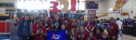 Central High Robotics Team Honored for Educational Outreach Work
